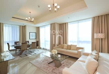 شقة فندقية 2 غرفة نوم للايجار في دبي مارينا، دبي - Fully Furnished Serviced Hotel Apartment Bills Included
