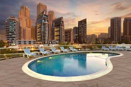 2 Bedroom Flat for Rent in Dubai Marina, Dubai - Reduced Price   Fully Furnished   2 BR Apt   Balcony   Dubai Marina