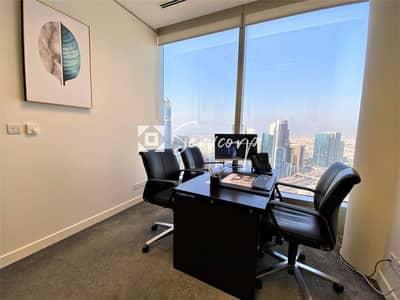 مکتب  للايجار في شارع الشيخ زايد، دبي - Exclusive private offices in Emirates Towers