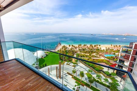 4 Bedroom Flat for Sale in Bluewaters Island, Dubai - 4 Bedroom Plus Maid | Full Seaview