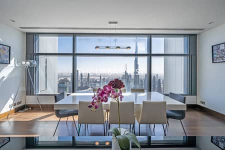 4 Bedroom Penthouse for Sale in DIFC, Dubai - Duplex Penthouse| Upgraded | with Burj View