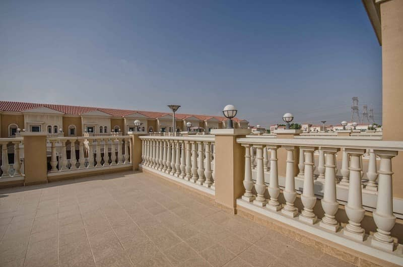 10 2 Bed Plus Maid's | Nakheel Townhouse | JVT Area |