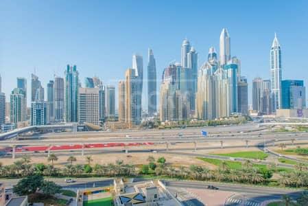 2 Bedroom Apartment for Rent in Jumeirah Lake Towers (JLT), Dubai - High Floor | 2-Bed | Plus Maids | Marina View