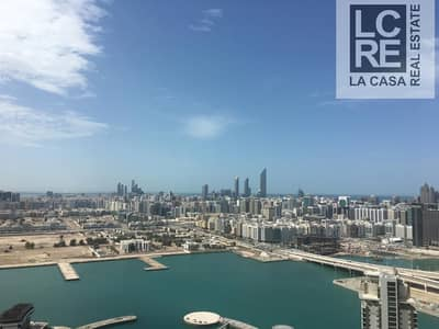1 Bedroom Flat for Rent in Al Reem Island, Abu Dhabi - High Floor I Exquisite 1BR w/ Balcony I Ready Now