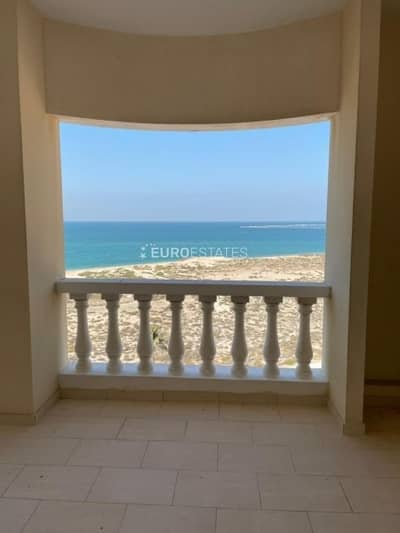 Studio for Sale in Al Hamra Village, Ras Al Khaimah - Sea View | Modified Studio Apt. | Large Balcony
