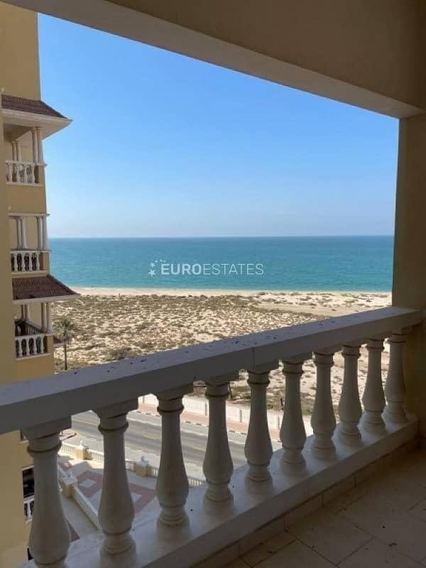 2 Sea View | Modified Studio Apt. | Large Balcony