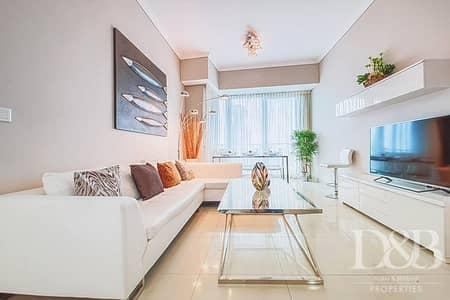1 Bedroom Flat for Rent in Dubai Marina, Dubai - High Floor | Dubai Eye & Sea View | Furnished