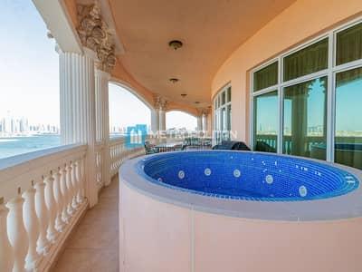 بنتهاوس 4 غرف نوم للايجار في نخلة جميرا، دبي - Luxury Penthouse | 360 degree sea view | Vacant