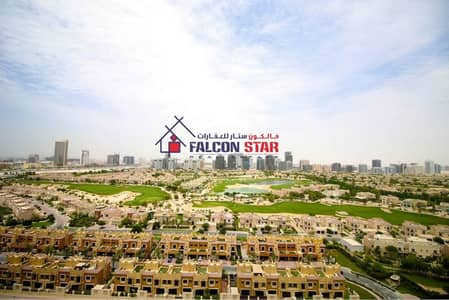 1 Bedroom Apartment for Rent in Dubai Sports City, Dubai - Golf View | Straight Layout | Spacious balcony