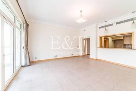 2 Bedroom Apartment for Rent in Palm Jumeirah, Dubai - High floor| D-type