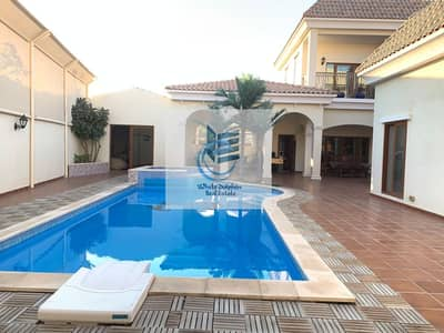 6 Bedroom Villa for Rent in Al Barsha, Dubai - 6 Bedroom Luxury & High End Finished Villa with Private Pool   Ready to Move