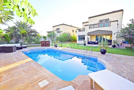 4 Bedroom Villa for Rent in Jumeirah Park, Dubai - Prime Location | Well Maintained | Available Feb