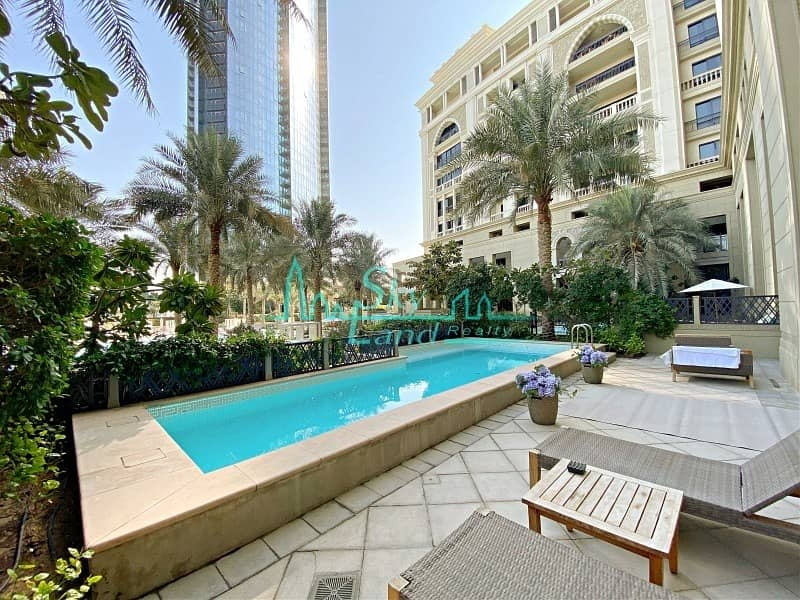 Fully Furnished 3 Bed|Private Pool|Pool Views