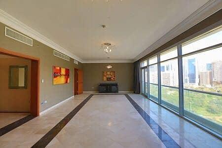 فلیٹ 3 غرف نوم للايجار في شارع الشيخ خليفة بن زايد، أبوظبي - living hall