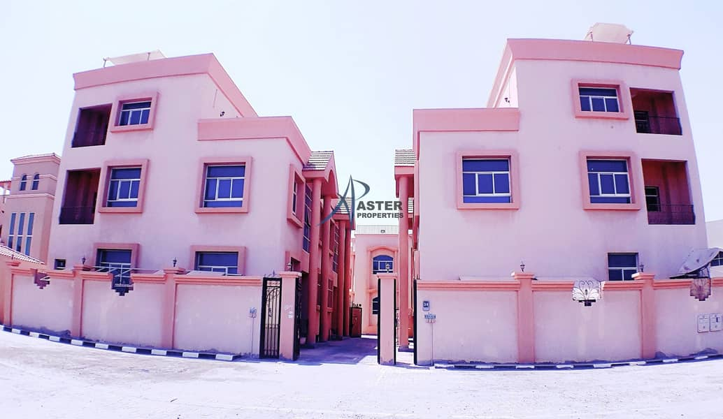 10 Immaculate 5BR Villa Compound Khalifa City A