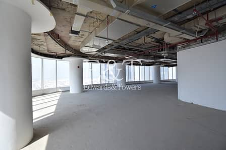 Full Floor Shell and Core office Bay Gate Tower
