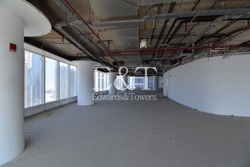 18 Full Floor Shell and Core office Bay Gate Tower