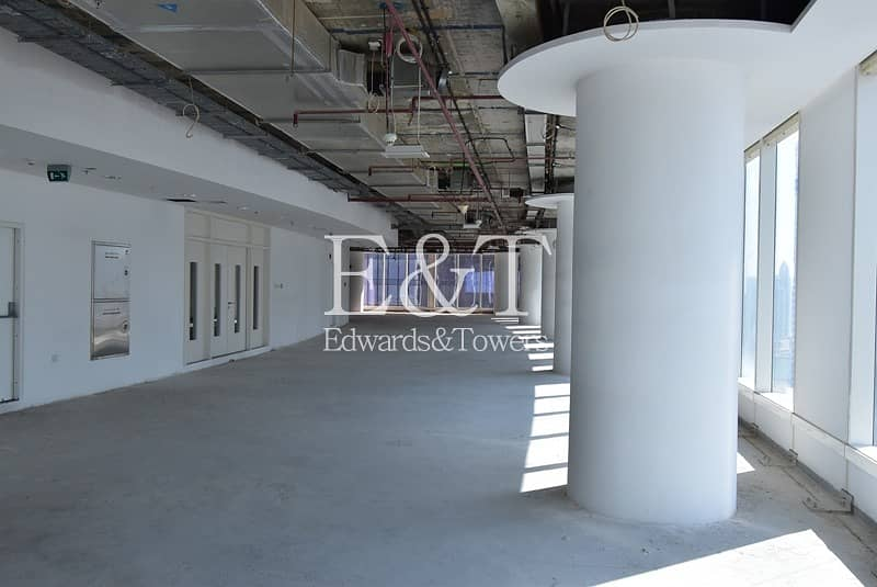 2 Shell and Core Full Floors in Bay Gate Tower