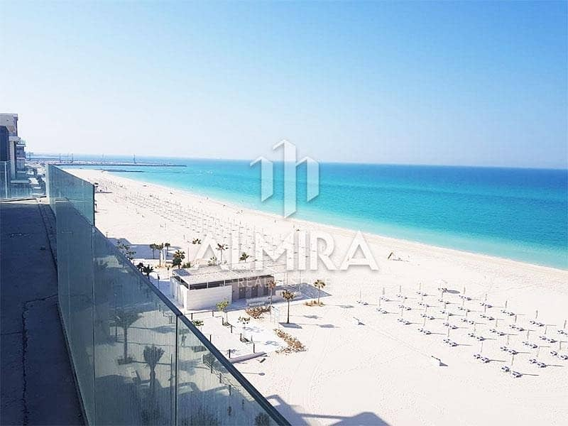 huge Investment shell & core penthouse w/ full sea views
