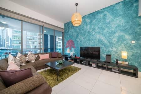 2 Bedroom Apartment for Rent in Dubai Marina, Dubai - Furnished 2 BR in Dubai Marina   Azure   0% Commission