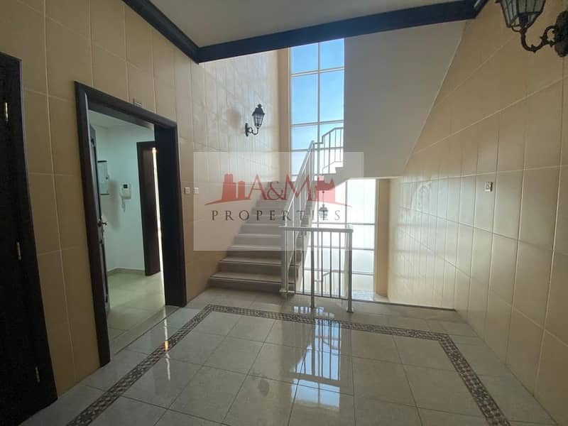 12 EXCELLENT LIVING.: One Bedroom Apartment with Excellent Finishing &  Parking for AED 42