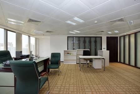 مکتب  للايجار في شارع الشيخ خليفة بن زايد، أبوظبي - State of the Art Serviced Office with Best Rates