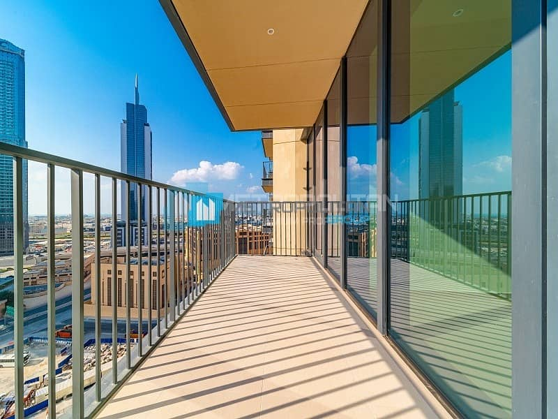17 Resale| 2 years post handover|High flr.| Burj view