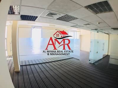 Office for Rent in Central District, Al Ain - Splendid 3 Rooms Glass Partitioned Office Space