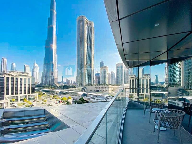 Vacant   Burj Khalifa view   Low floor   Corner