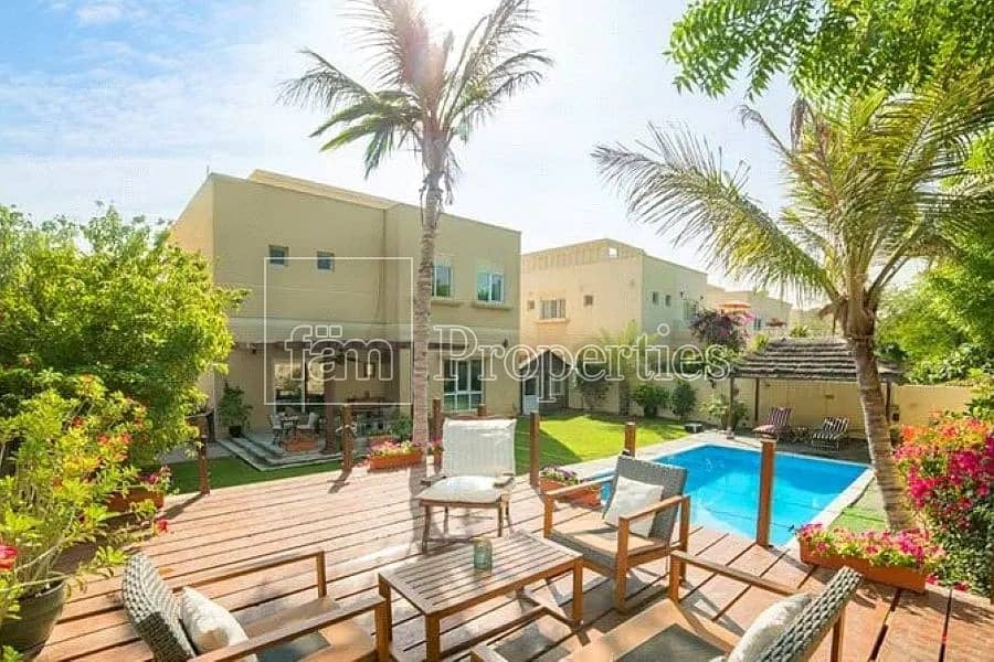 TYPE 3 / 3BEDS + MAID / PRIVATE POOL
