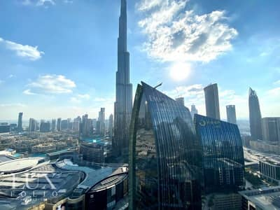 3 Bedroom Flat for Rent in Downtown Dubai, Dubai - High Floor   06 Series   Available Now