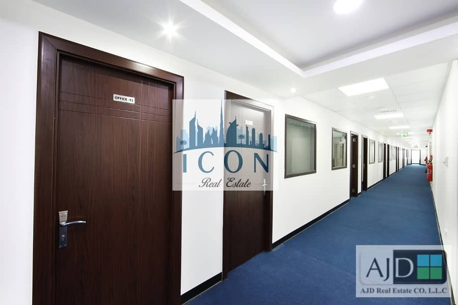 11 Furnished serviced offices at Al Gahoud