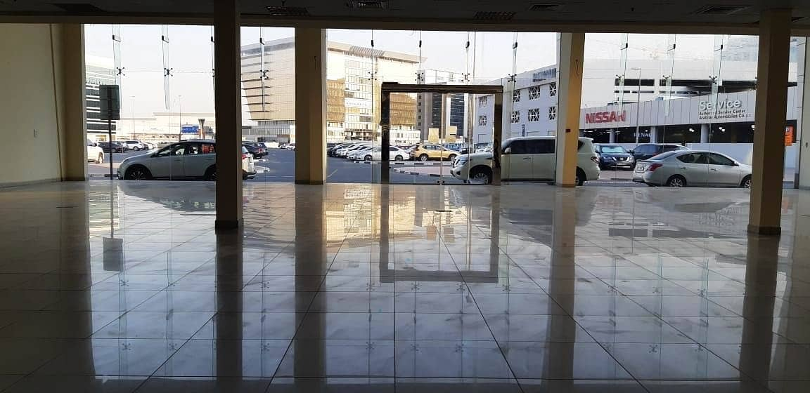 2 LARGE Showroom in Port Saeed Near DNATA Deira