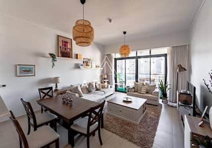 1 Bedroom Flat for Sale in The Hills, Dubai - Very Spacious   JLT Skyline view   High Floor 