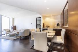 شقة في برج خليفة وسط مدينة دبي 2 غرف 4000000 درهم - 4962371