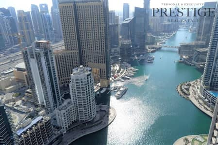 4 Bedroom Penthouse for Rent in Dubai Marina, Dubai - Penthouse | Amazing View | Chiller Free
