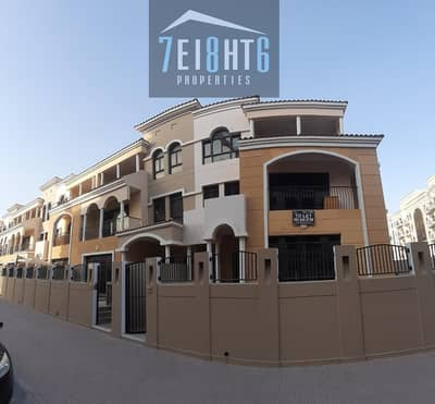 4 Bedroom Villa for Rent in Jumeirah Village Circle (JVC), Dubai - Amazing value: 4 b/r good quality semi-indep TYPE FORTUNATO villa + maids room + basement + large garden for rent in JVC