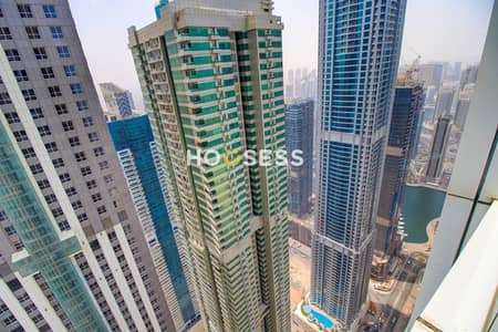بنتهاوس 4 غرف نوم للبيع في دبي مارينا، دبي - High ROIII FURNISHEDIISPACIOUSIIPENTHOUSEII SEA VIEW