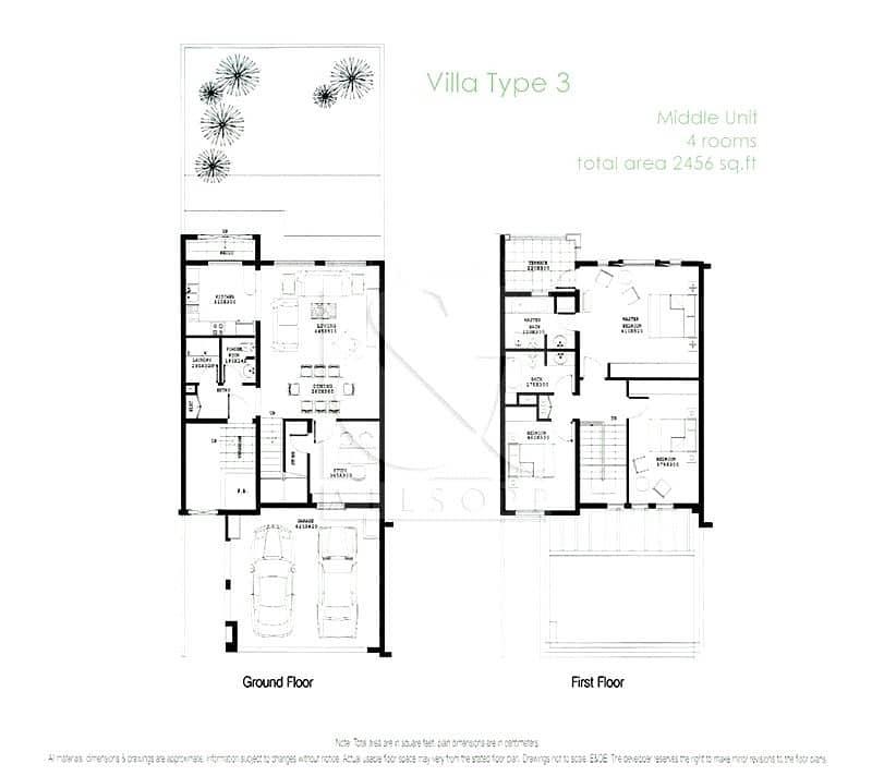 10 3M | Three Bedrooms | Springs 11 | Balcony