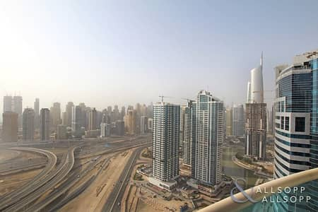 3 Bedroom Apartment for Rent in Jumeirah Lake Towers (JLT), Dubai - 3 Bed + Maids | High Floor | Unfurnished