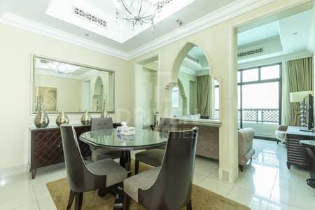 فلیٹ 1 غرفة نوم للايجار في وسط مدينة دبي، دبي - Furnished | Chiller Free | fountain view