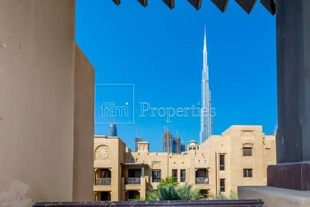 2 Bedroom Apartment for Rent in Old Town, Dubai - Walk In Closet | Furnished | Dream Home with Khalifa View