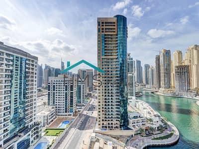 2 Bedroom Flat for Rent in Dubai Marina, Dubai - 2BR Trident Bayside - Great Location