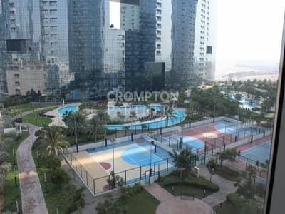 2 Bedroom Apartment for Sale in Al Reem Island, Abu Dhabi - Corner  2 bed plus study in Gate Tower 3