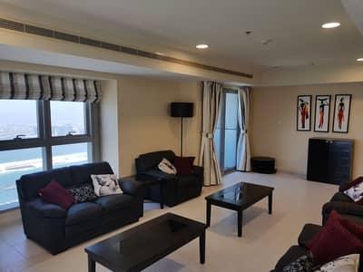 فلیٹ 3 غرف نوم للبيع في دبي مارينا، دبي - Fully Furnished Full Sea View Ready  3 BR