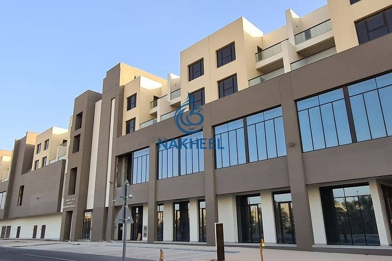 2 Exclusive commercial retail space in ground floor from Nakheel