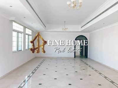8 Bedroom Villa for Rent in Al Mushrif, Abu Dhabi - Outside Kitchen | 8MBR Stand-Alone with Garden