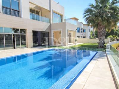 6 Bedroom Villa for Rent in Emirates Hills, Dubai - Pool & Lake View | Luxury Living | Furnished