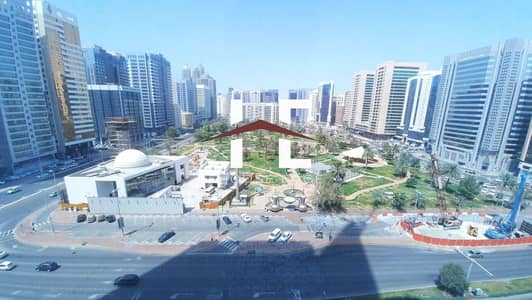 1 Bedroom Flat for Rent in Hamdan Street, Abu Dhabi - Spacious 1 BHK with Balcony and Closed Kitchen