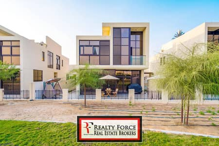 6 Bedroom Villa for Sale in DAMAC Hills (Akoya by DAMAC), Dubai - LAST AVAILABLE | SINGLE ROW 6BR | PARK FACING